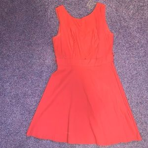 Cute Orange Work Dress